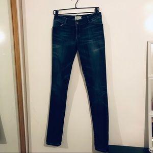 Current Elliott size 27 skinny jeans